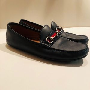 Gucci Leather shoes 11""